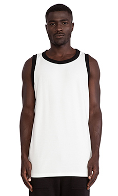 Wil Fry Basketball Jersey in Cream W/ Black Rib