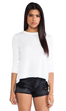 Wilt Crossover Back Sweatshirt in White