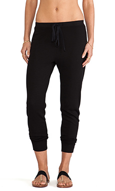 Wilt Slouchy Sweatpant in Black