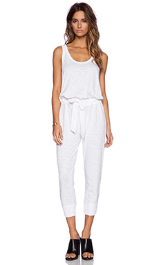 Wilt Belted Jumpsuit in White