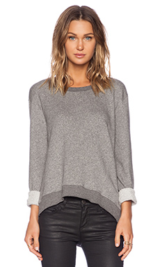 Wilt French Terry Twisted Easy in Charcoal