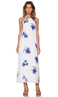 Winston White Carmen Maxi Dress in Lavender