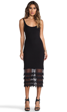 Winston White Eden Dress in Black