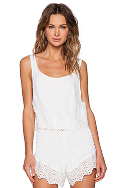 Winston White Daria Crop Top in White