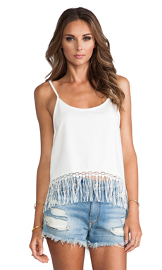Winston White Davie Tank in Feather