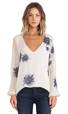 Winston White Alaia Top in Indigo
