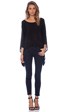 Winston White Isabel Top in Black