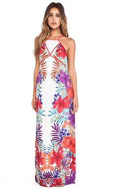 Wish Hibiscus Maxi Dress in Tropicana