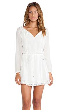 Wish Quell Mini Dress in Cream