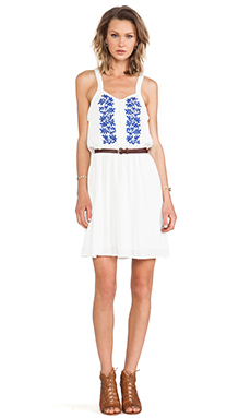 Wish Bloom Dress in White