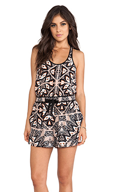 Wish Montego Playsuit in Mellow