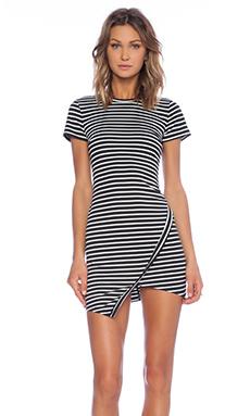 Wilde Heart Earn Your Stripes Dress in Black