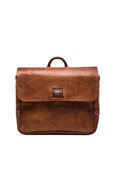 WILL Leather Goods Douglas Postal Bag in Tan