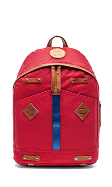 WILL Leather Goods Give Will Backpack in Red