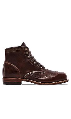 Wolverine 1000 Mile Addison Wingtip Boot in Brown