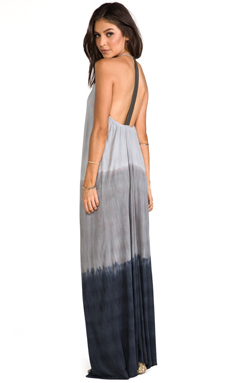 WOODLEIGH EXCLUSIVE Veve Maxi Dress in Black/Grey