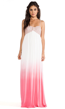 WOODLEIGH Kenzie Ombre Maxi in Pink