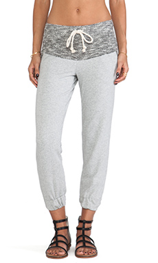 WOODLEIGH Aja Jogger Pant in Heather