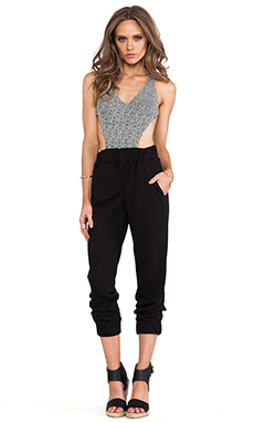 WOODLEIGH Corsica Jumpsuit in Black & White