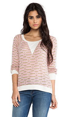 WOODLEIGH Camilla Top in Pink Multi