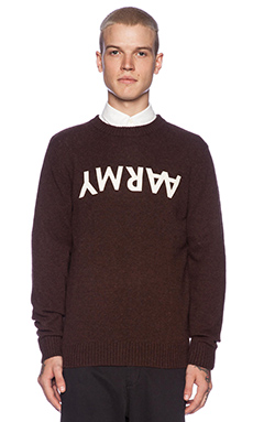 Wood Wood Bob Sweater in Peat