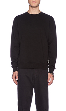 Wood Wood Houston Sweat in Black