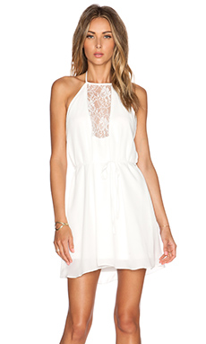 WYLDR EX Girlfriend Dress in White