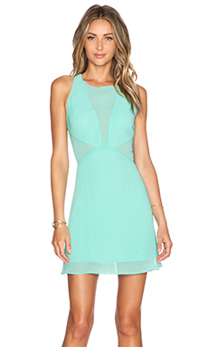 WYLDR Glitter Dress in Aqua