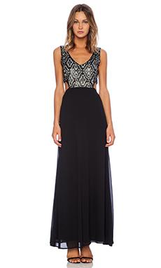 WYLDR Ritzy Maxi Dress in Black
