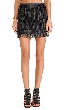 WYLDR Keep it Together Mini Skirt in Black