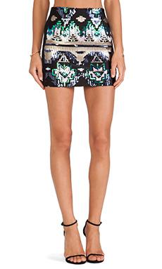 WYLDR Electrify Aztec Mini Skirt in Print