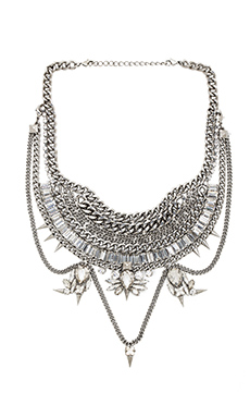 Xevana Titania x Isis Necklace in Crystal