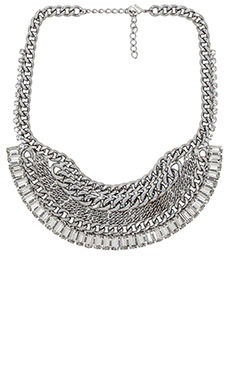 XEVANA Titania x Isis Necklace in Crystal & Silver