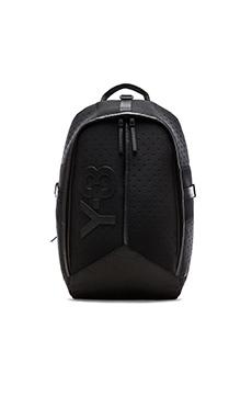 Y-3 Yohji Yamamoto Day Backpack in Black