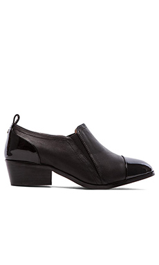 Yosi Samra Demi Soft Leather Ankle Boot in Black