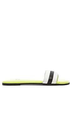 Yosi Samra Remi Soft Leather Sandals in White