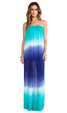 Young, Fabulous & Broke Elenor Maxi in Blue Ombre