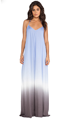 Young, Fabulous & Broke Fortune Maxi Dress in Purple Ombre
