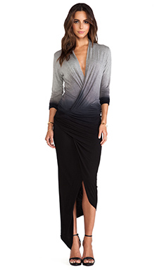 Young, Fabulous & Broke Brielle Maxi in Black Ombre