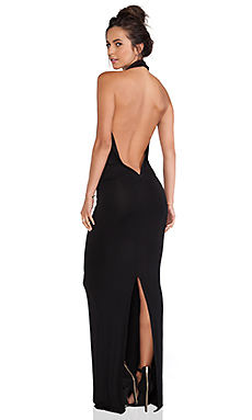 Young, Fabulous & Broke Benette Maxi Dress in Black