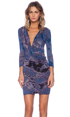 Young, Fabulous & Broke Getty Dress in Purple Nova Wash