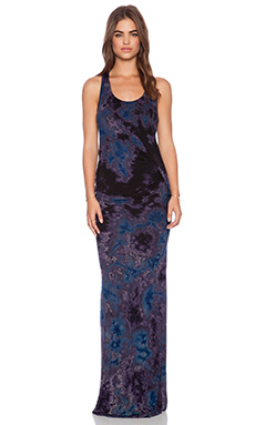 Young, Fabulous & Broke Nono Maxi Dress in Purple Nova Wash