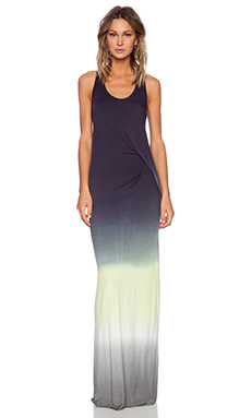 Young, Fabulous & Broke Nono Maxi Dress in Lime Ombre
