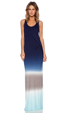 Young, Fabulous & Broke Nono Maxi Dress in Navy Ombre