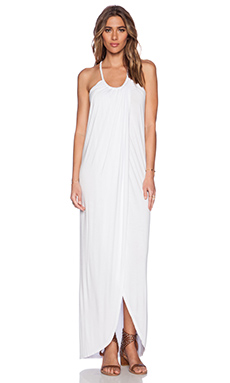 Young, Fabulous & Broke Lexie Dress in Solid White