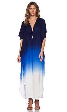 Young, Fabulous & Broke Julie Dress in Navy & Blue Ombre