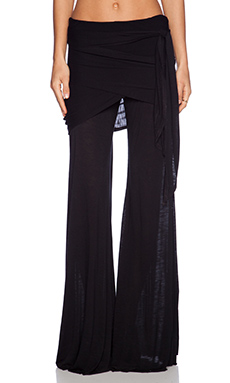 Young, Fabulous & Broke Marina Pant in Solid Black