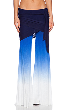 Young, Fabulous & Broke Marina Pant in Navy & Blue Ombre