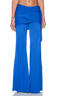 Young, Fabulous & Broke Marina Pant in Solid Blue