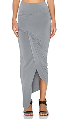 Young, Fabulous & Broke Sassy Skirt in Gray